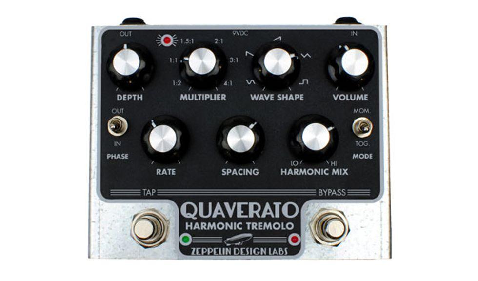 Zeppelin Design Labs Announces the Quaverato Harmonic Tremolo