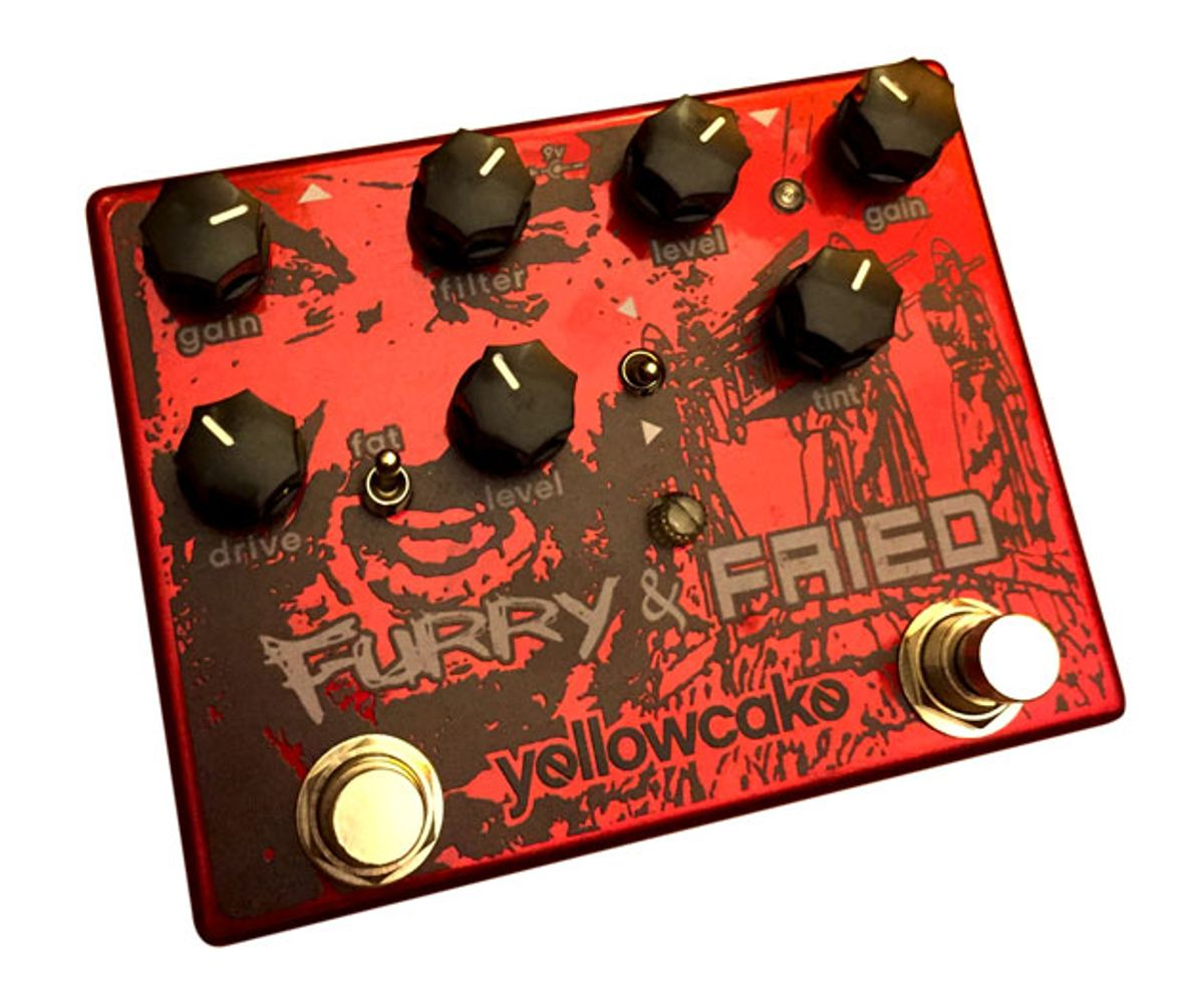 Yellowcake Pedals Introduces the Furry & Fried