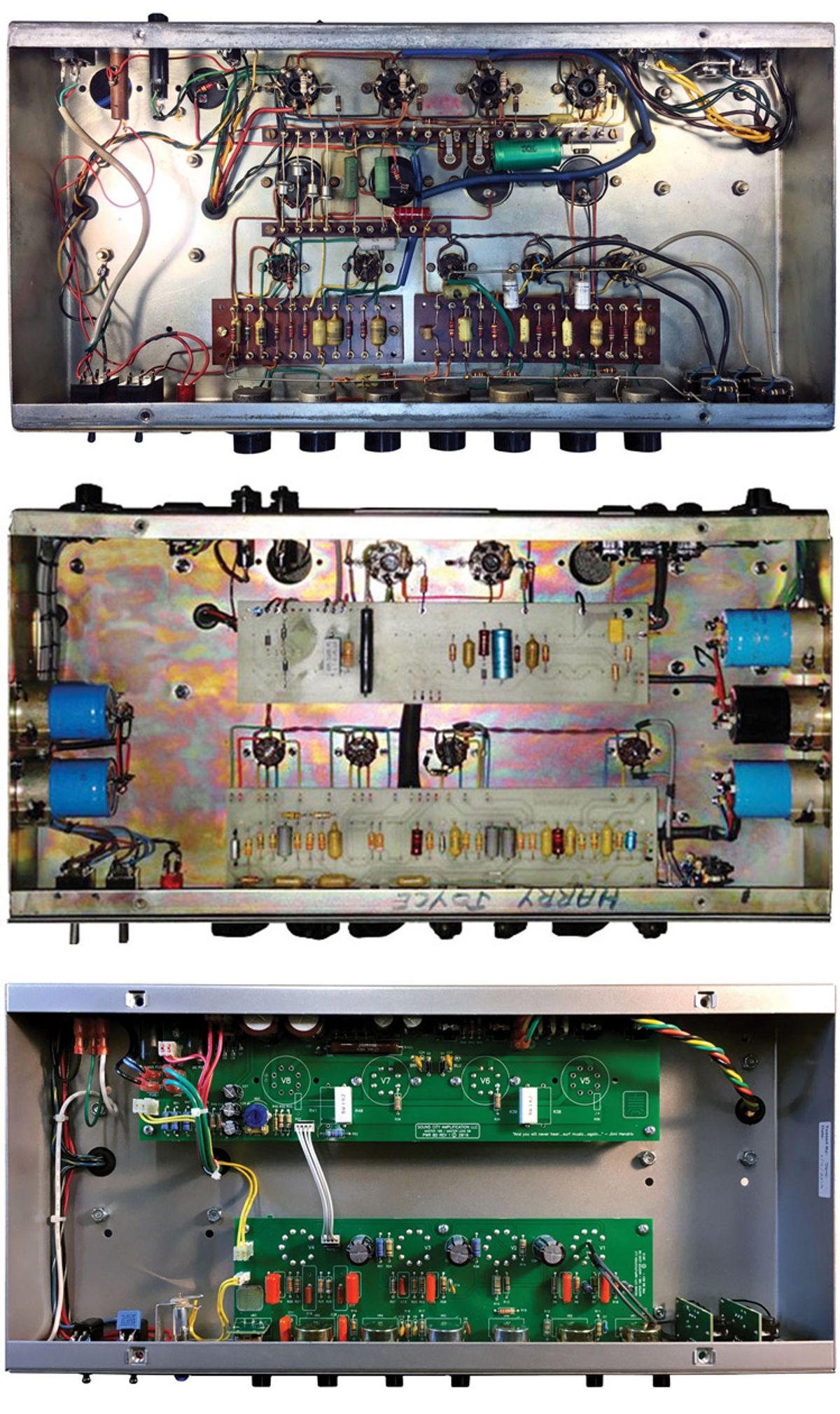 Signal to Noise: Are Handwired Amps Superior to PCB-Based Designs?