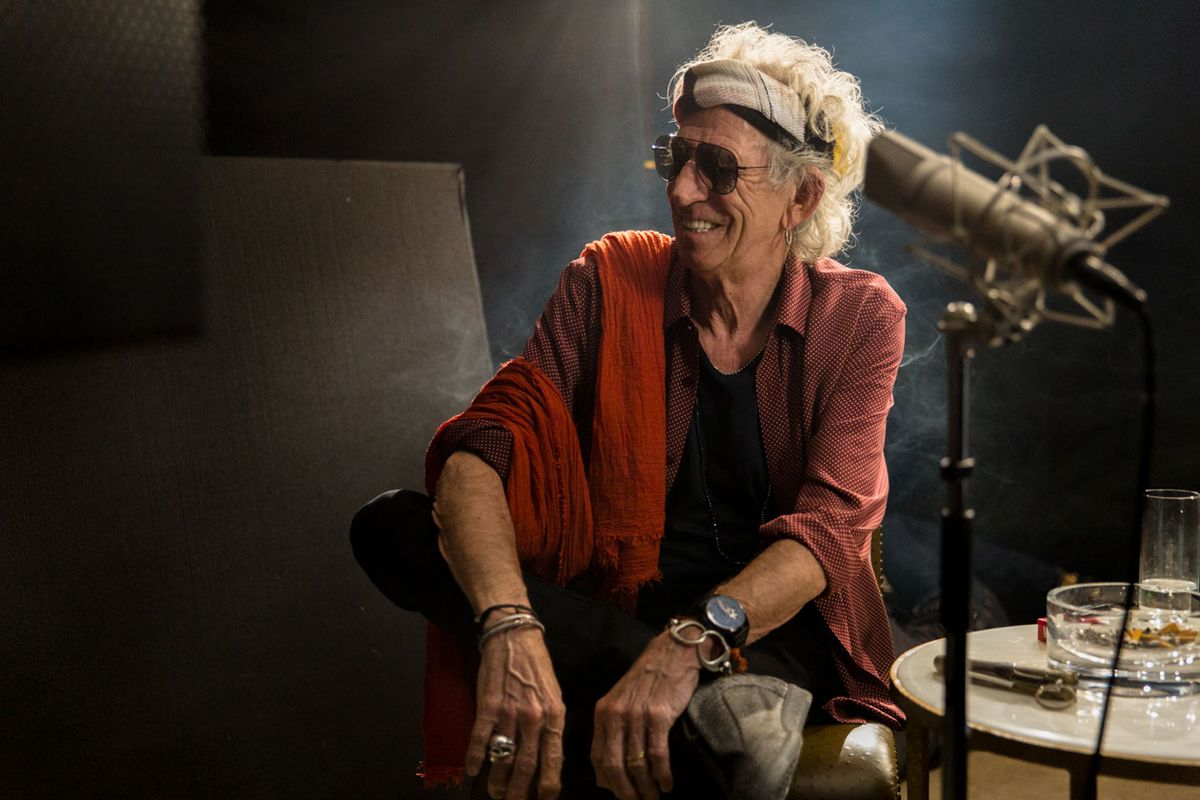 Keith Richards Unveils 30th Anniversary Reissue of 'Talk is Cheap'