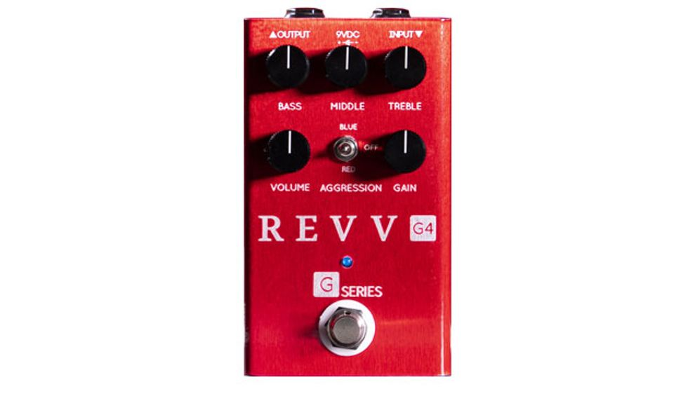 Revv Amps Returns with the G4 Preamp Pedal