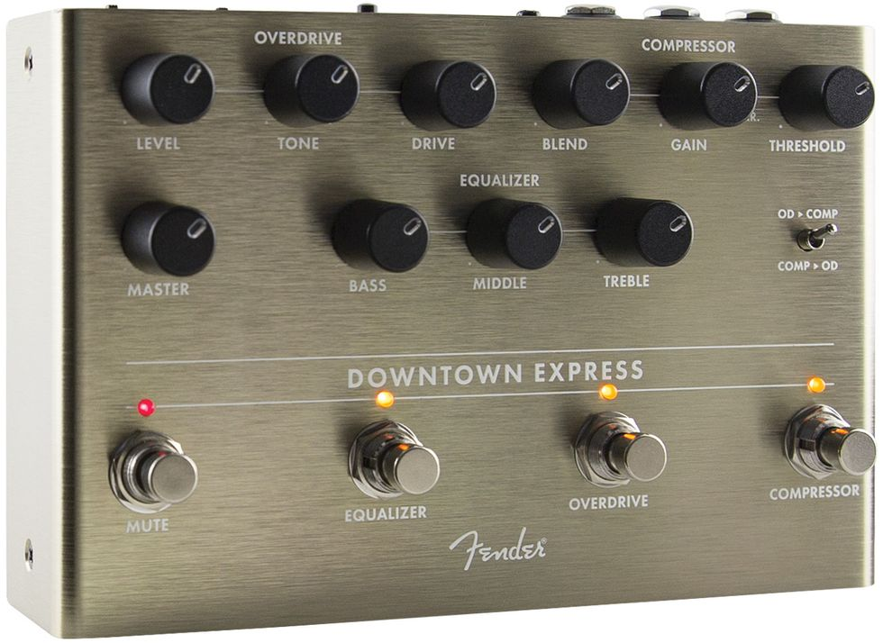 Fender downtown homepage