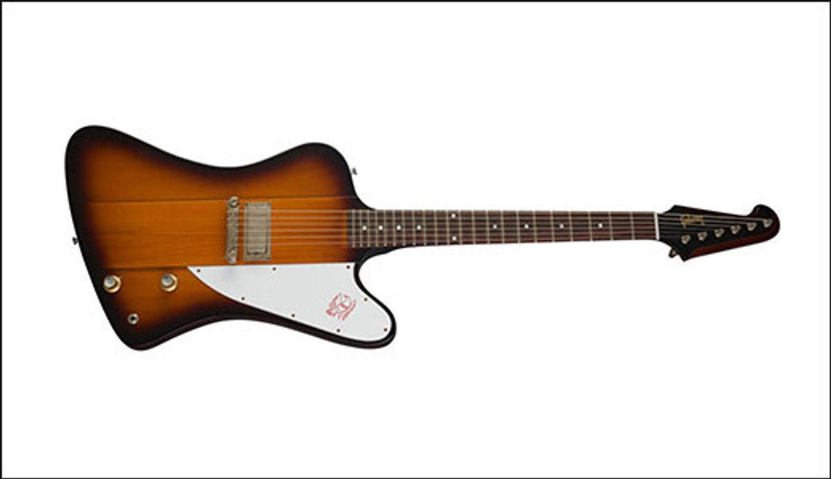 Gibson Announces the Eric Clapton 1964 Firebird I