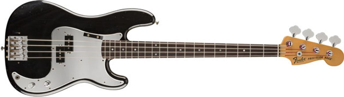 Fender Releases the Phil Lynott Precision Bass