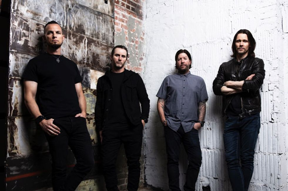 "Alter Bridge Releases ""Take the Crown"""
