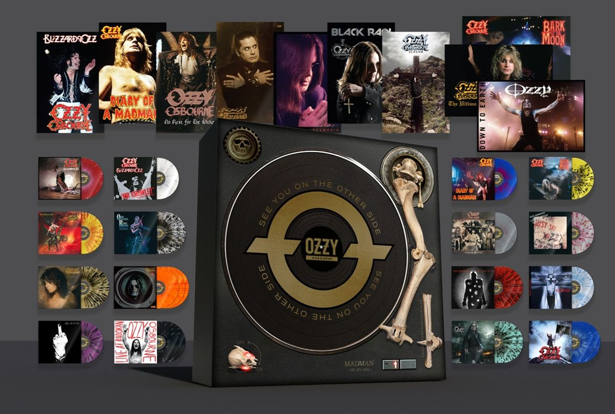 Ozzy Osbourne Releases Definitive Vinyl Box Set 'See You On The Other Side'