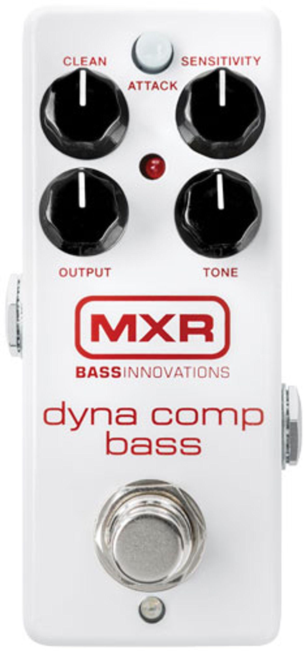 MXR Dyna Comp Bass Review