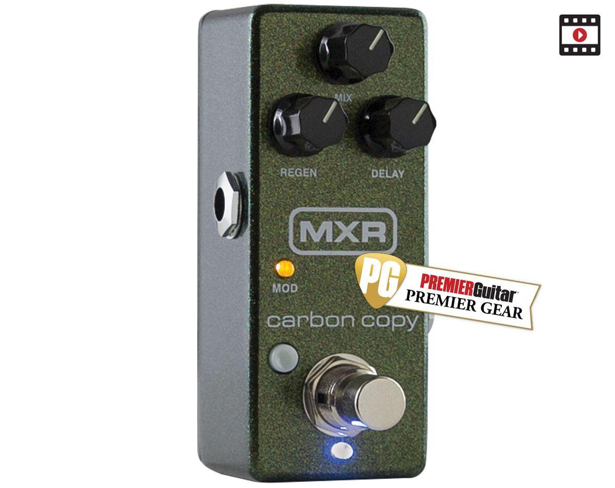 MXR Carbon Copy Mini Review
