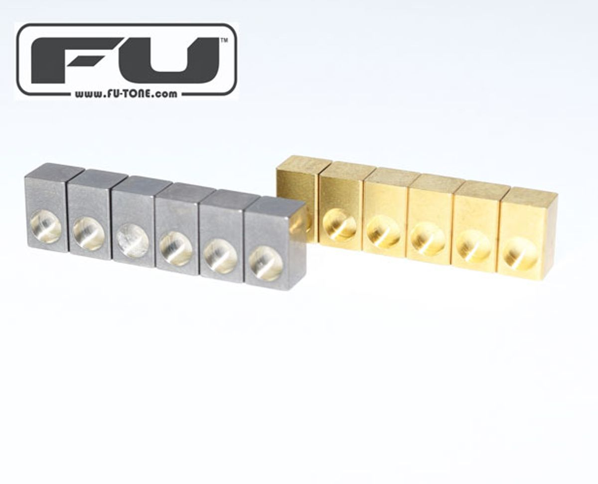 FU-Tone Releases Naval Brass Saddle Inserts