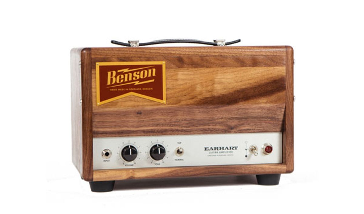 Benson Amps Unveils the Earhart