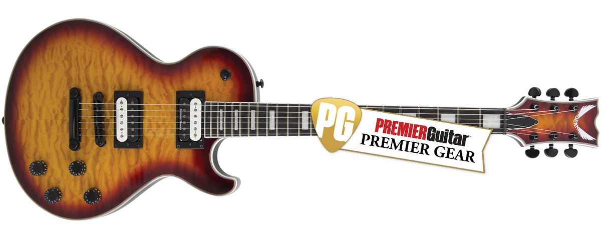 Dean Thoroughbred Select Quilt Top TCS: The Premier Guitar Review