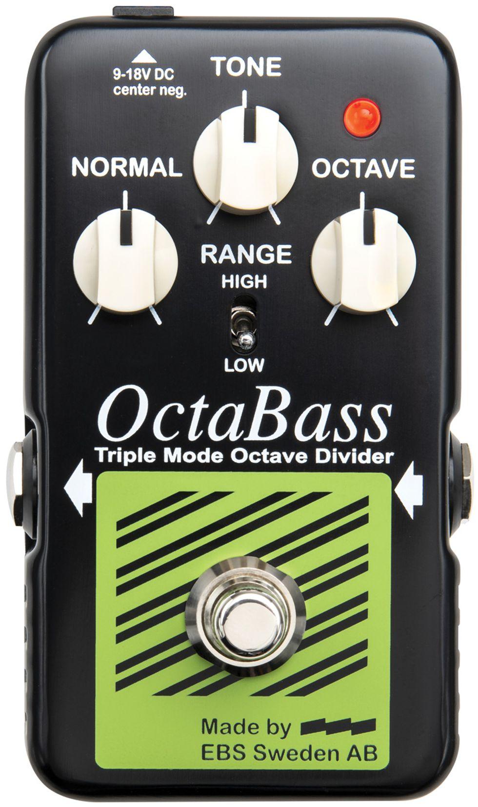 EBS OctaBass Blue Label: The Premier Guitar Review