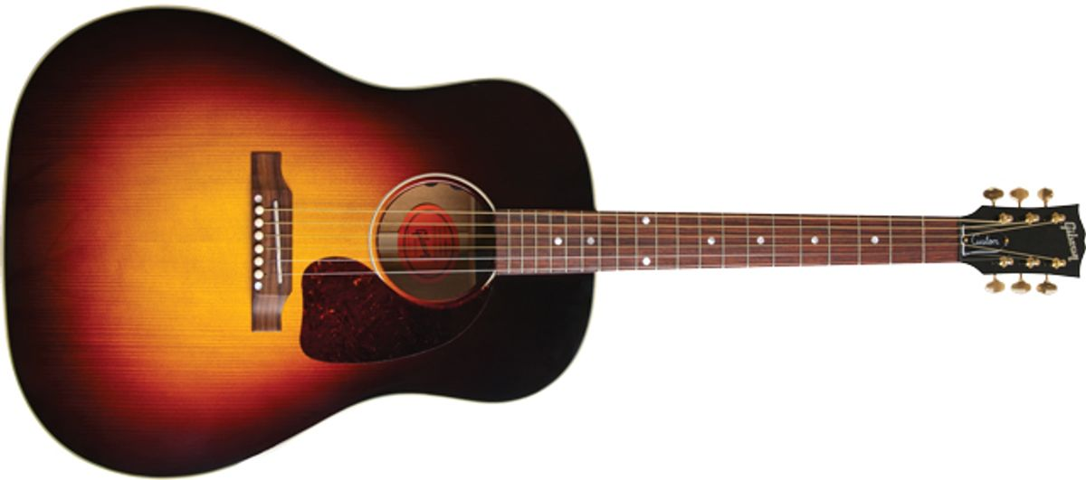 Gibson J-45 Purevoice Custom Limited Edition Acoustic Guitar Review