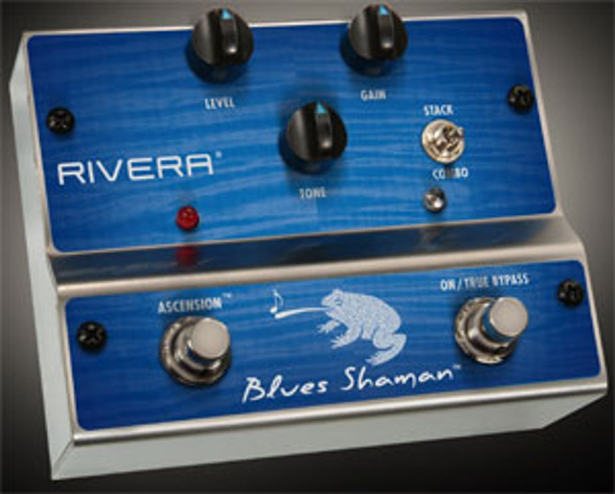 Rivera Introduces Shaman Distortion/Overdrive Pedals