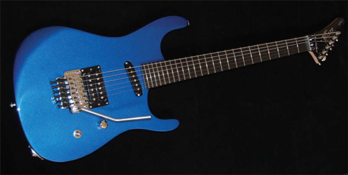 Buddy Blaze K2 Model 2 Electric Guitar Review