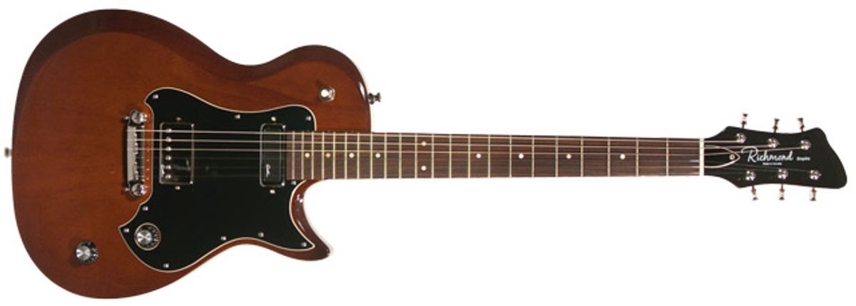 Richmond Guitars Empire Mahogany Electric Guitar Review