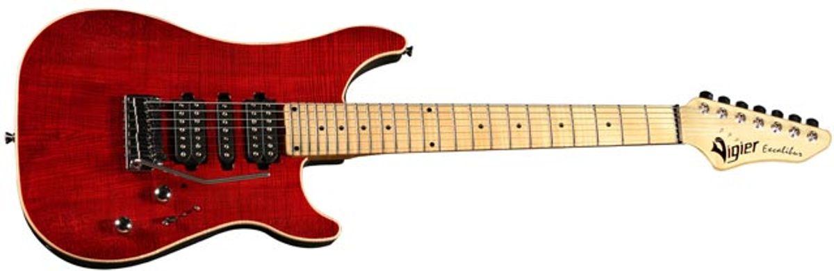 Vigier Guitars Announces the New Excalibur Special 7