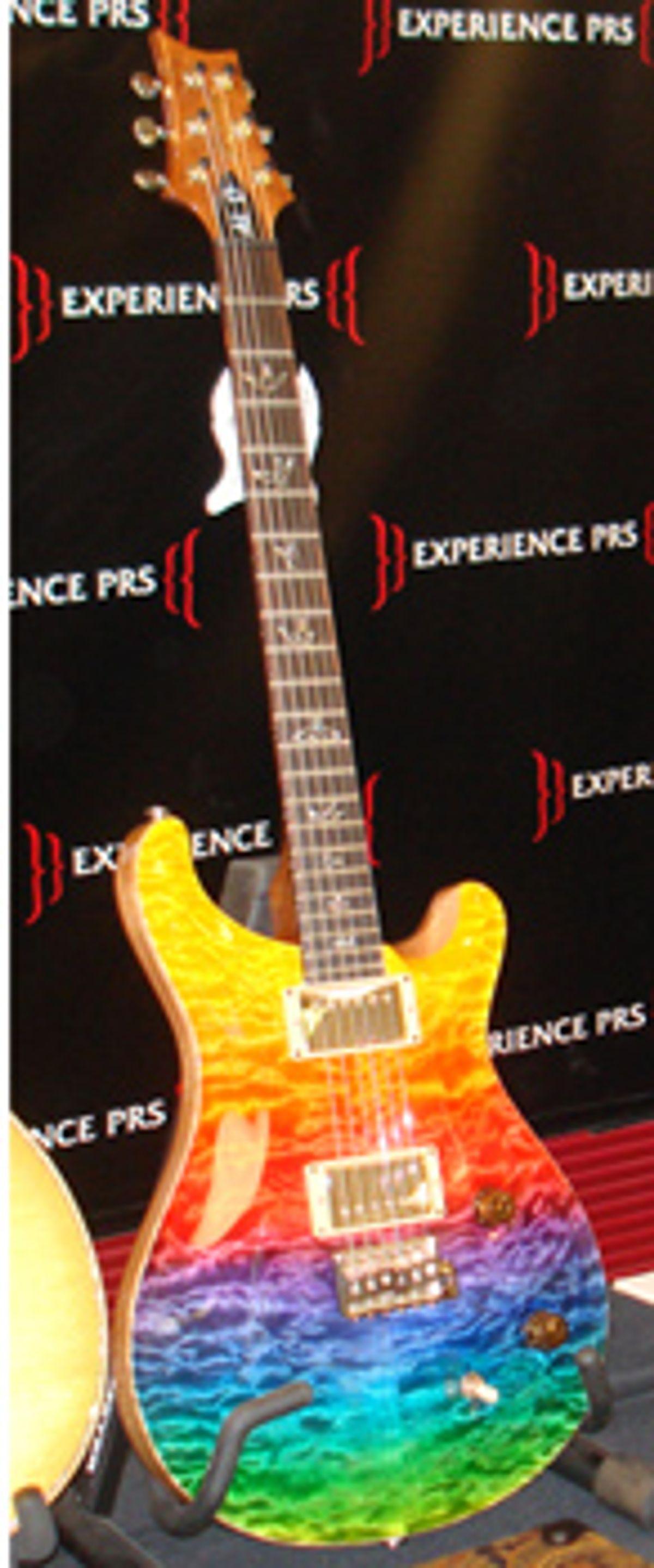 New PRS Al Di Meola Prism Guitar