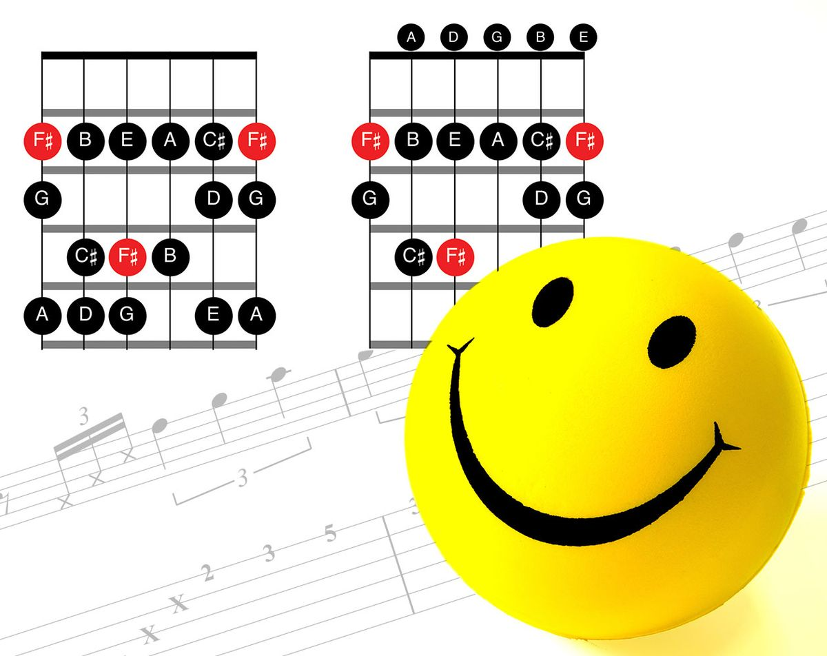 The Happy Side of the Phrygian Scale