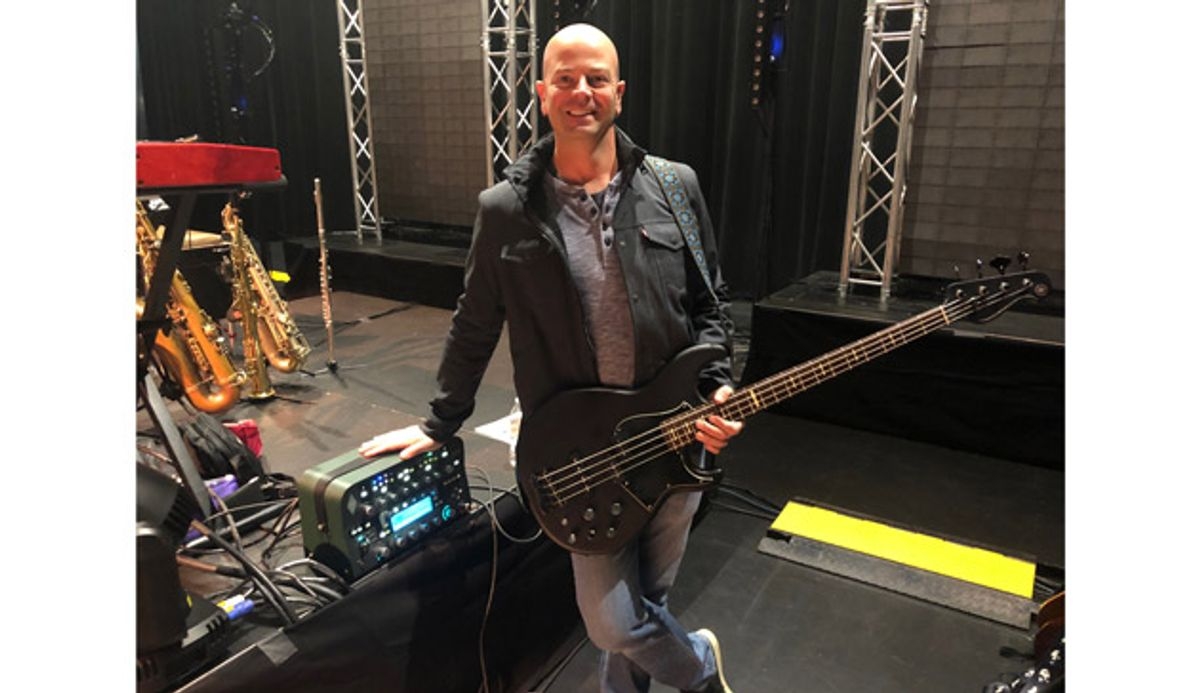 Michael Britt Launches It's Just Bass Profile Pack to Benefit Mama Lere Hearing School