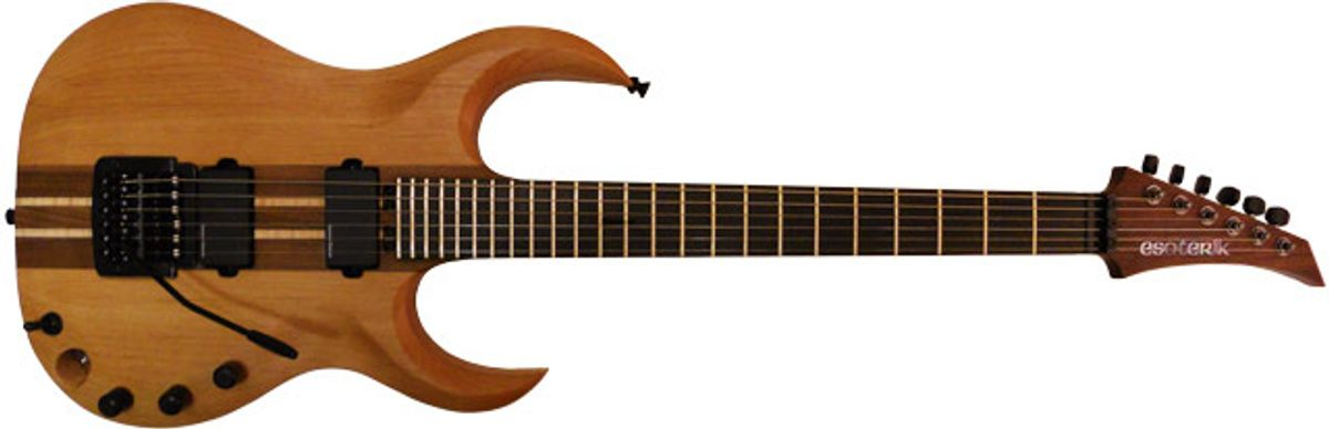 Esoterik Guitars Introduces The DR3