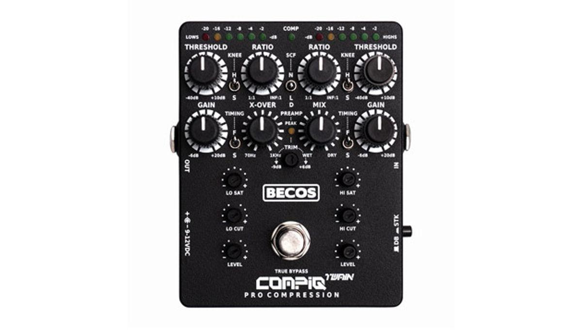 Becos Effects Announces the CompIQ Twain Pro Compressor