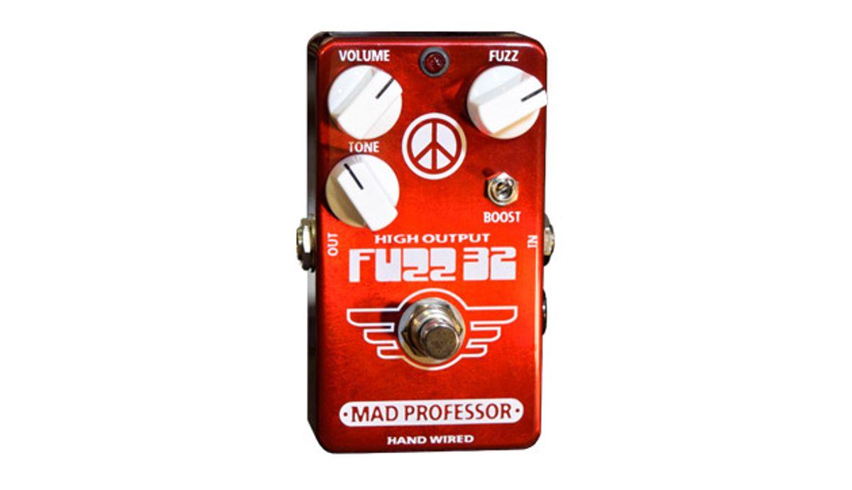 Mad Professor Amplification Announces the Fuzz 32