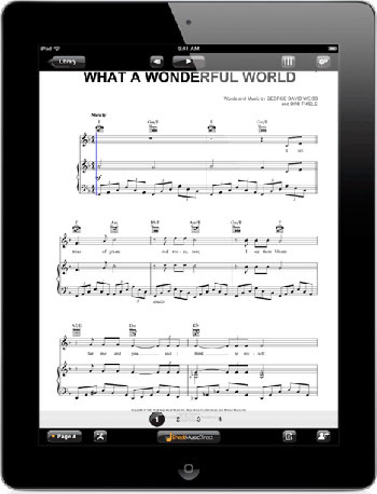 Sheet Music Direct Announces iPad App