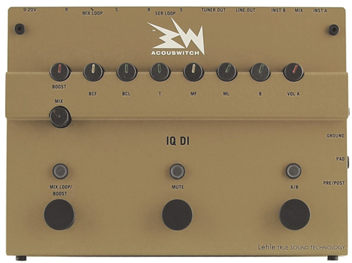 Ruppert Musical Instruments Acouswitch IQ DI Review