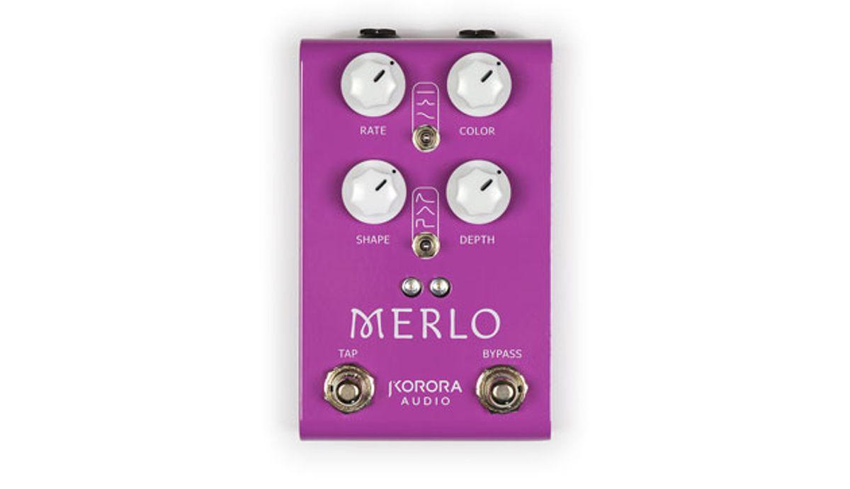 Korora Audio Releases the Merlo Harmonic Tremolo Pedal