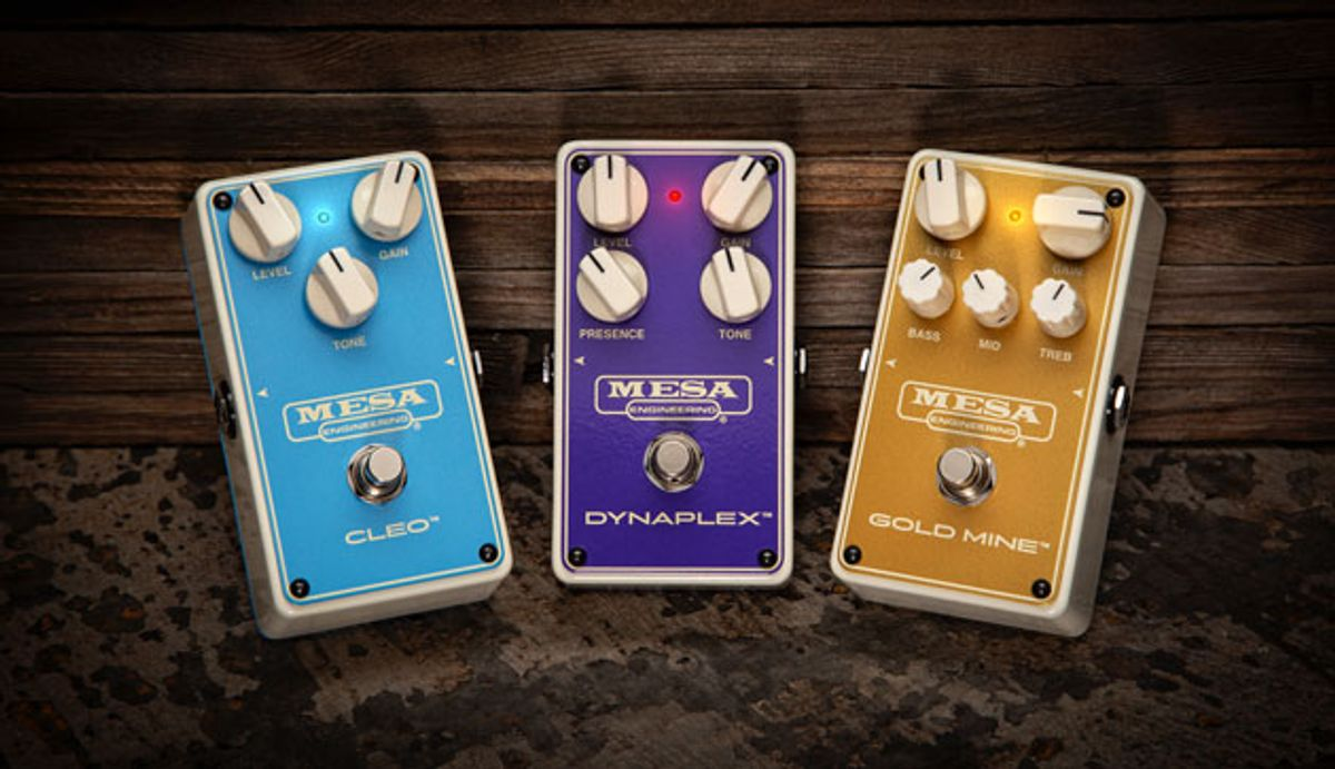 Mesa/Boogie Introduces Three New Overdrive Pedals