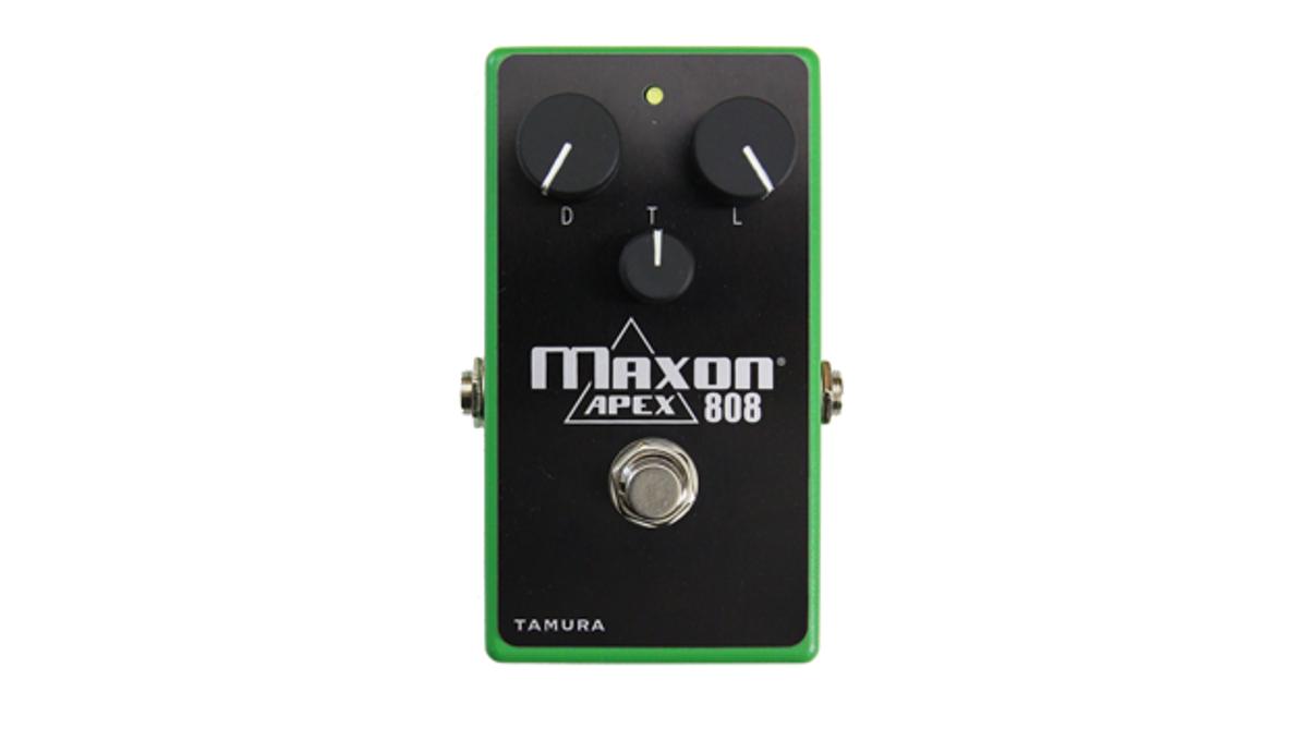 Maxon Custom Shop Releases the APEX808 Overdrive