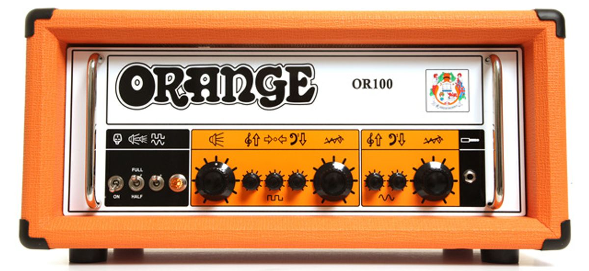 Orange Amplification Launches Twin Channel OR100 Amp