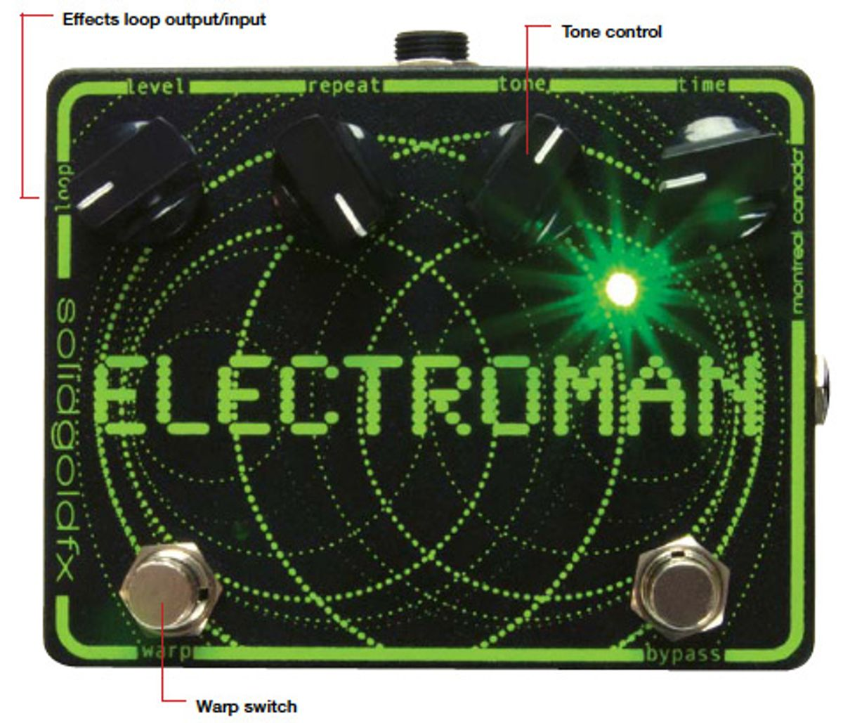 Solid Gold FX Electroman Pedal Review