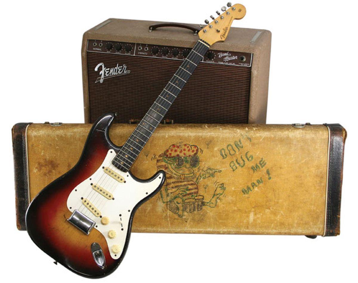 1959 Fender Stratocaster Serial Number 38098