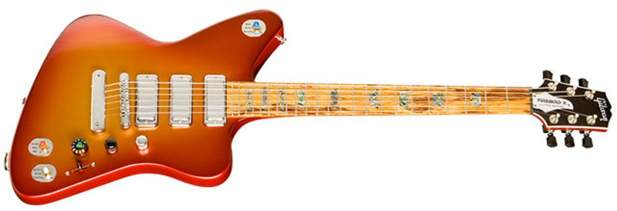 Gibson Announces Firebird X With Built-in Effects
