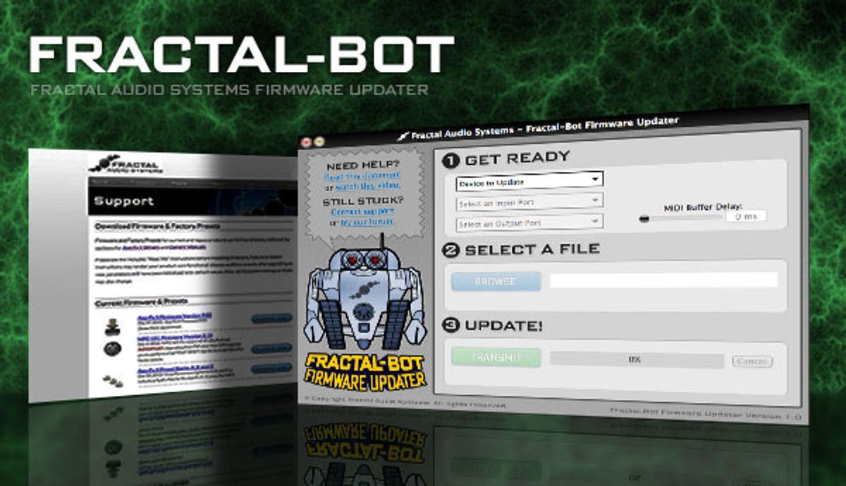 Fractal Audio Releases Fractal-Bot Firmware Updater