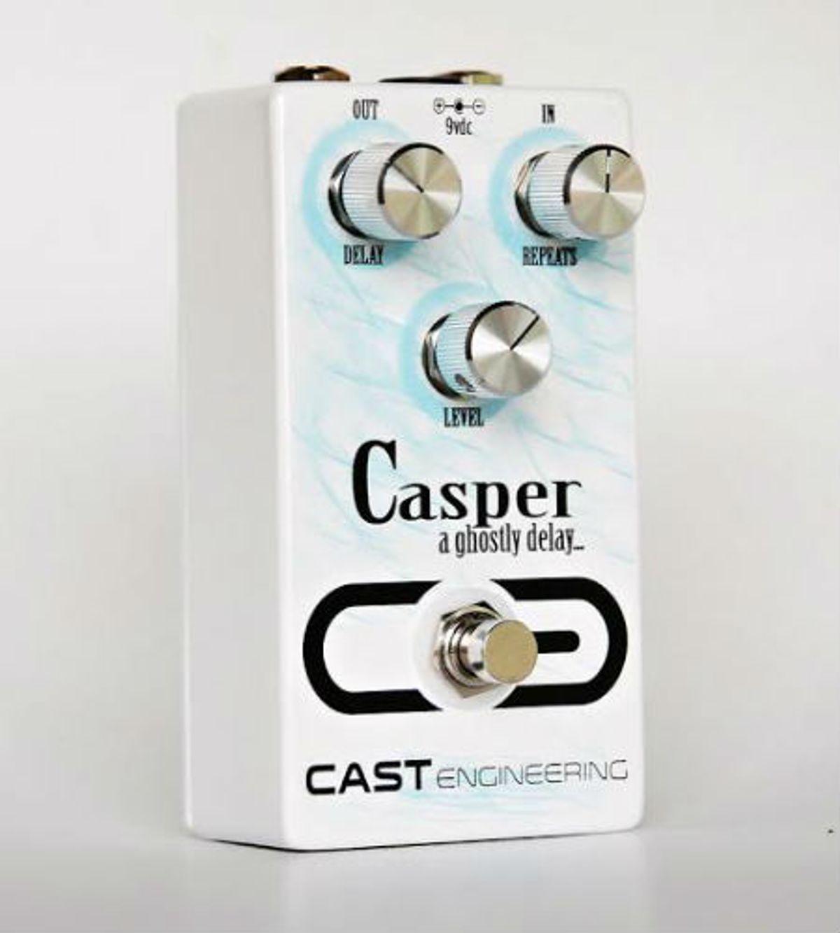 CAST Engineering Releases Casper Delay Pedal