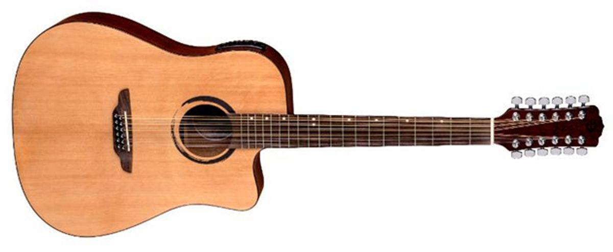 Luna Guitars Introduces Wabi Sabi Dread Cutaway 12-String Acoustic