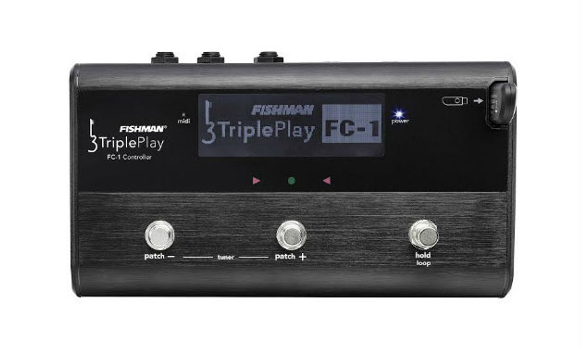 Fishman Releases the TriplePlay FC-1 Controller