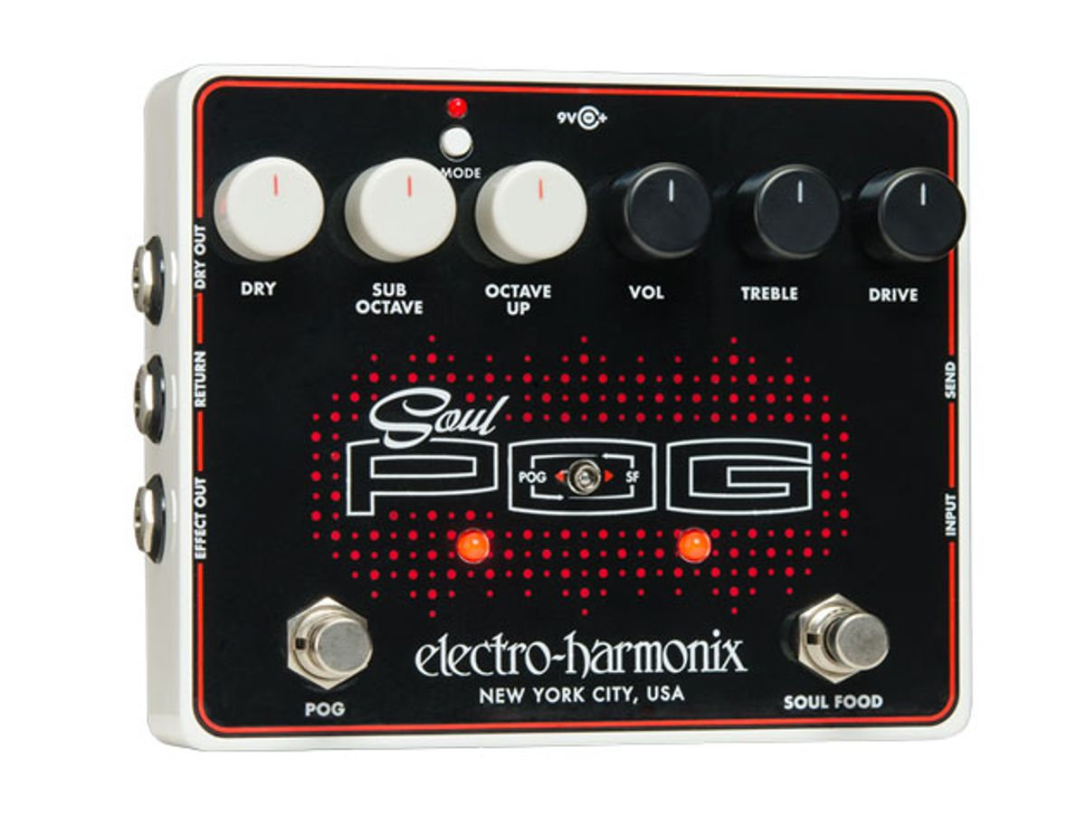 Electro-Harmonix Announces the Soul POG