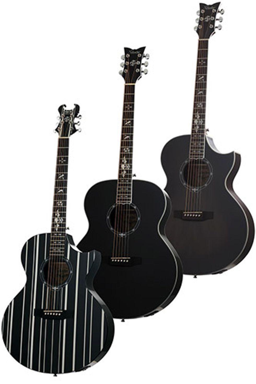 schecter releases new signature models from avenged sevenfold premier guitar. Black Bedroom Furniture Sets. Home Design Ideas