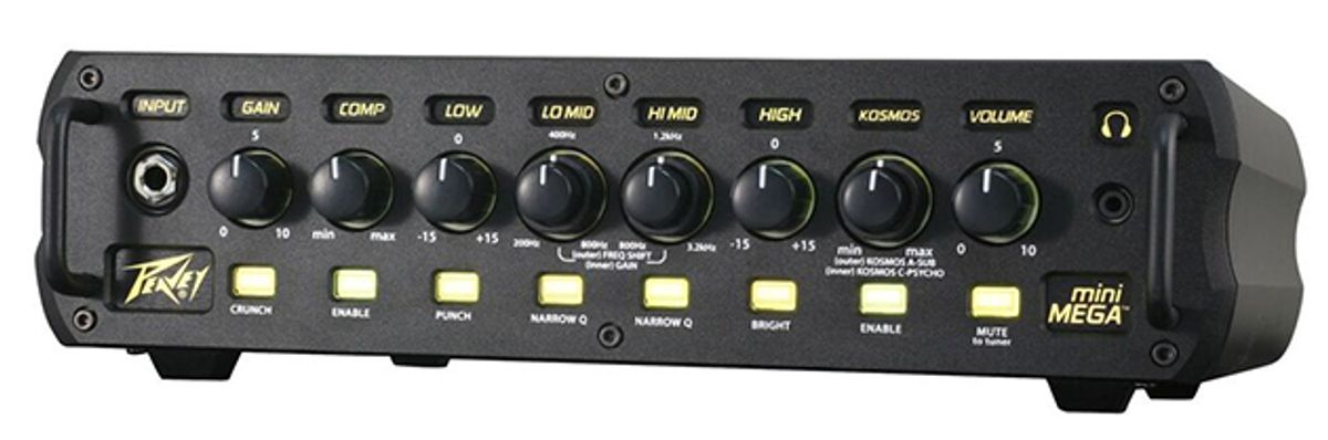 Peavey Electronics Releases the MiniMEGA