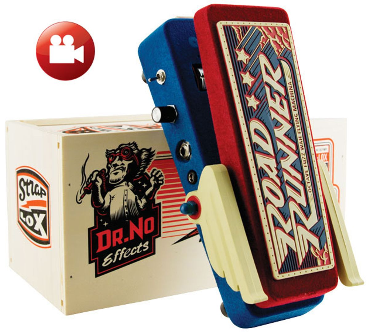 Dr. No Road Runner Octave Fuzz Wah Flying Machina Review