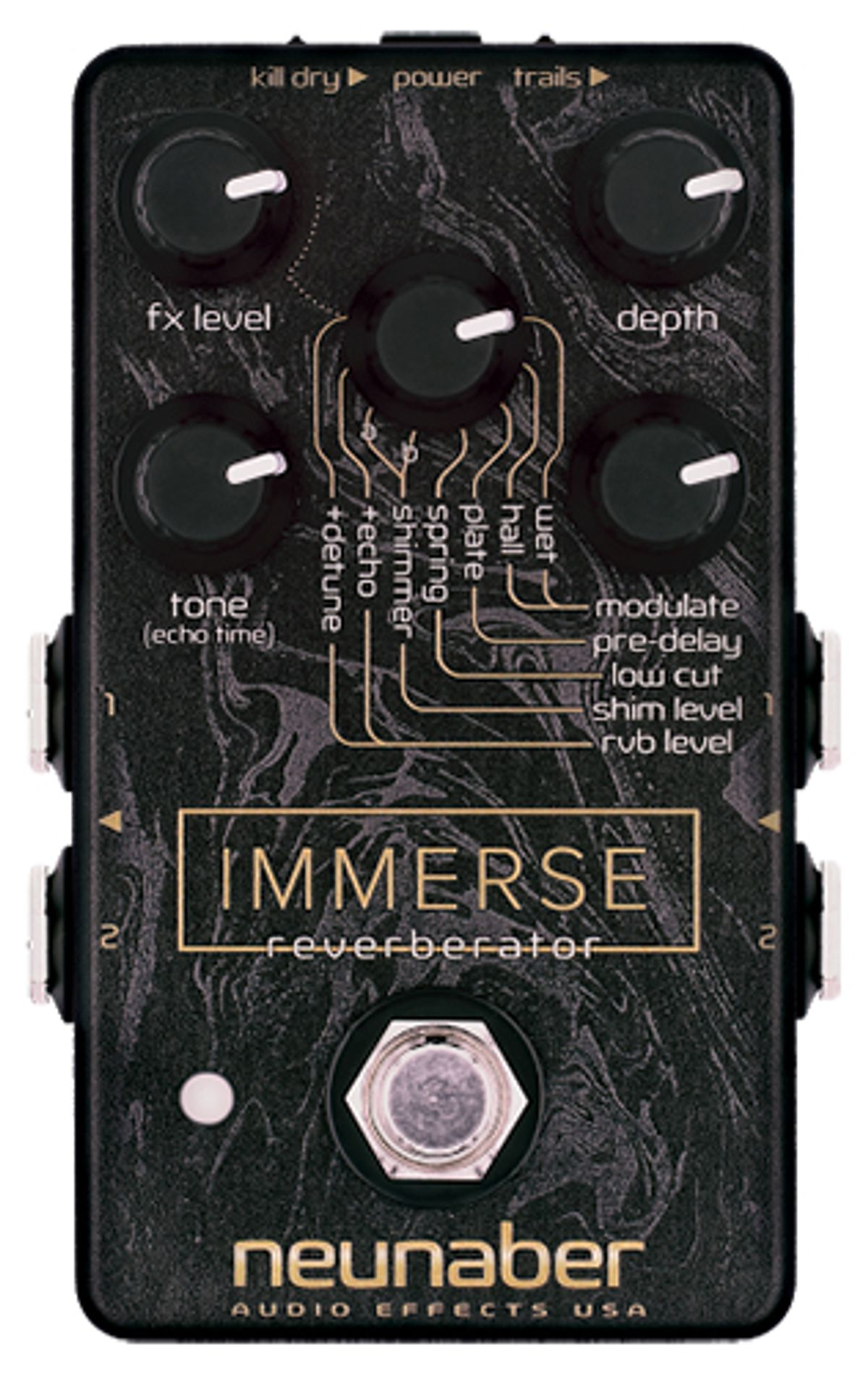 Neunaber Audio Effects Unveils the Immerse Reverberator
