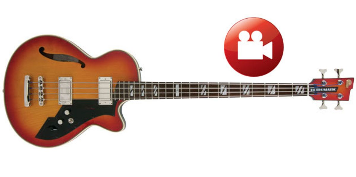 Peerless Guitars Retromatic B2 Bass Review