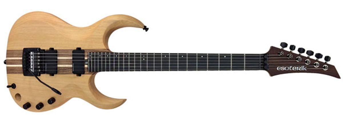 Esoterik Guitars Unveils the DR3