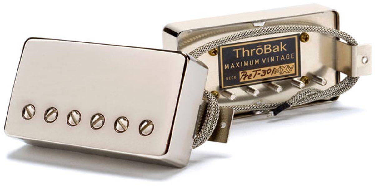 ThroBak Electronics Announces the Pre-T-301 Pickup
