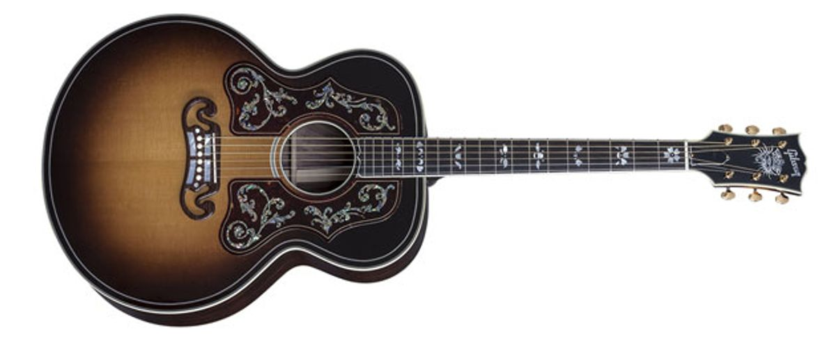 Gibson Introduces Bob Dylan Signature Models