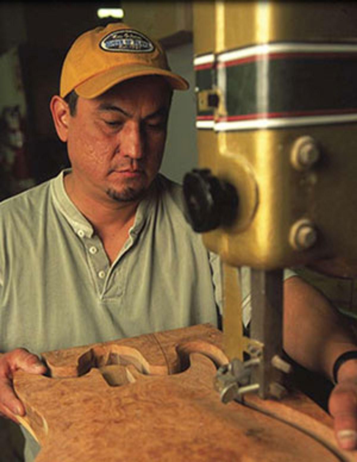 Art Esparza, Former Fender Custom Shop Senior Master Builder, Joins Premier Builders Guild